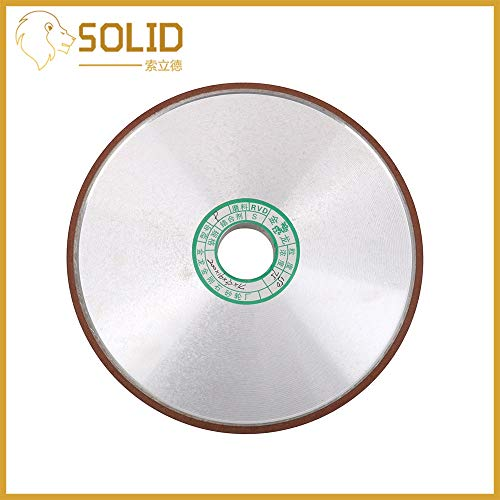 Great Deal! Xucus Diamond Grinding Wheel 200mm Cutter Grinder Grinding Wheels for Steel Milling Cutt...
