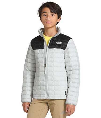 The North Face Boys Thermoball Eco Jacket, Tin Grey, S