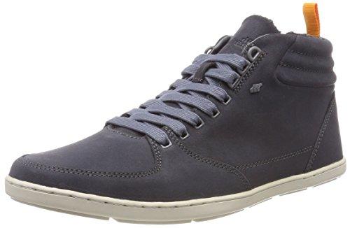 Boxfresh Herren EPLETT Blok Hohe Sneaker, Grau (Charcoal Grey Chr Grey), 43 EU