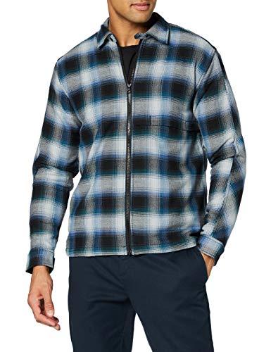 Hurley M Bravo Poler Lined Shacket Shirt Hombre