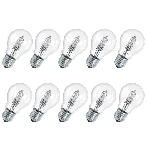 Osram Classic A Pro 64542 Lot de 10 ampoules halogènes économiques 30W = 40W 230V E27