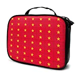 Travel Make Up Bags Originality Vietnam Flag Large Makeup Bag Cosmetic Orgainer Train Case 9.8x3.15x7.5Inch