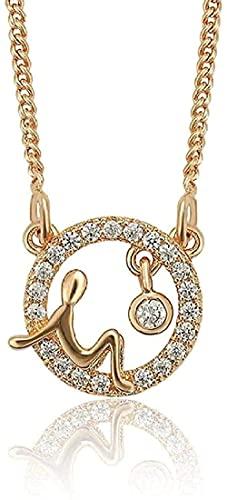 Halskette für Frauen Halskette für Männer Anhänger Halskette Anhänger Ankunft Mode Farbe Gold vergoldet Runde Halskette Bel Geburtstag Schmuck Geschenke Anhänger Halskette Geschenk für Mädchen Jungen