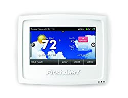 least best smart thermostat 2018 First Alert Onelink Wi-Fi Touchscreen review