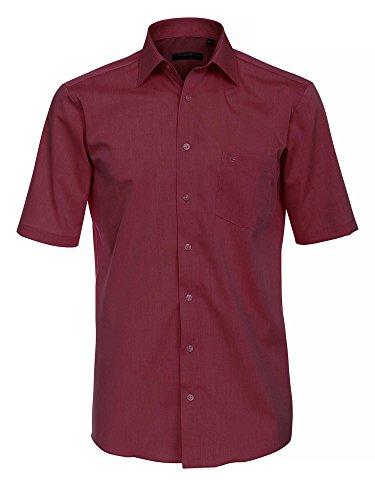 CASAMODA Herren 8060 Businesshemd, Rot (Rot 44), 41