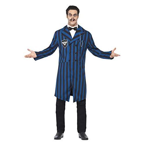 Smiffys Costume Duchessa del Maniero, Blu e Nero, comprende Giacca, Camicia Finta e Crav, Medium