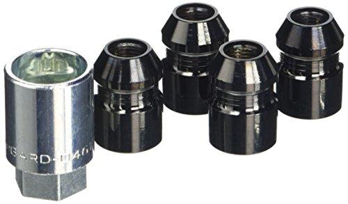 Mc Gard Kit écrous de Protection des Roues McGard, Noir, Embase Conique 60°, Filet M12x1,25, Hauteur Totale 32,5mm, Profondeur de vissage, 25,0mm, Ouverture 21mm, Diamètre de clé 27,7 mm 24.154 SUB