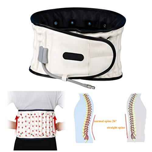 Ceinture de décompression dorsale, support lombaire en spirale, dispositif de traction d'air pour homme et femme