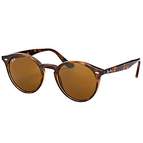 Ray-Ban Gafas de Sol ROUND RB 2180 HAVANA/B- CLASSIC BROWN 49/21/145 hombre