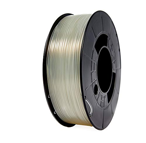 Winkle Filamento PLA HD, 1.75 mm, Transparente, Filamento para Impresión 3D, Bobina 300 gr