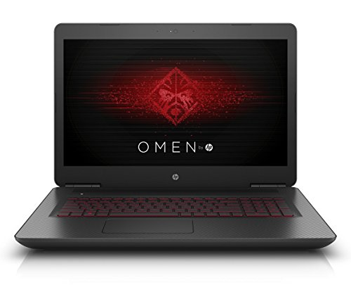 OMEN by HP (17-w101ng) 43,9 cm (17,3 Zoll / FHD IPS UWVA) Gaming Laptop (Intel Core i7-6700HQ, 16 GB RAM, 128 GB SSD, 1 TB HDD, NVIDIA GeForce GTX 1060, Windows 10) schwarz