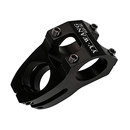 YY. WANG Bicycle Aluminum Alloy MTB Mountain Bike Hollow Handle Standpipe, Size: 31.8mm * 28.6 * 45mm Color (Black)