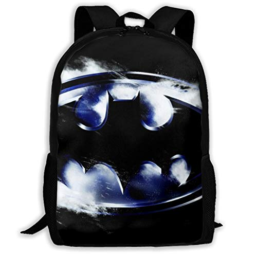 Customized Superhero Logos Kids School Backpack for Girls Boys Lightweight Durable Middle Elementary Daypack Book Bag