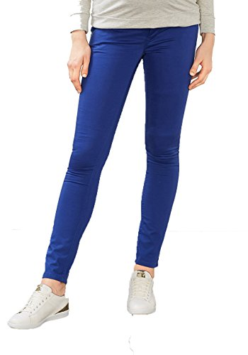 ESPRIT Maternity Damen Umstandshose Pants OTB Slim Jeans Hose / O8C113 Amparo Blue (410)