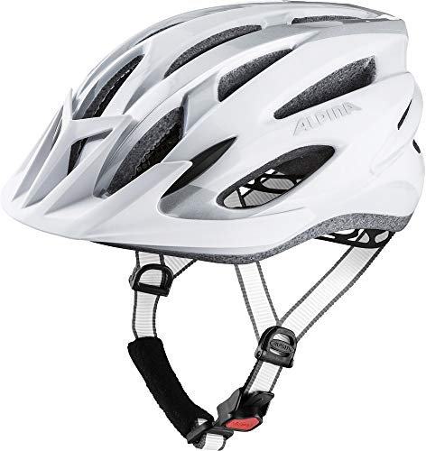 ALPINA MTB 17 Rennrad-Helm, White/Silver, 54-58