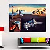 Geiqianjiumai Pintura al óleo Abstracta surrealismo Arte de la Pared Cartel de Arte clásico Sala de Estar decoración del hogar Pintura sin Marco 30x40 cm