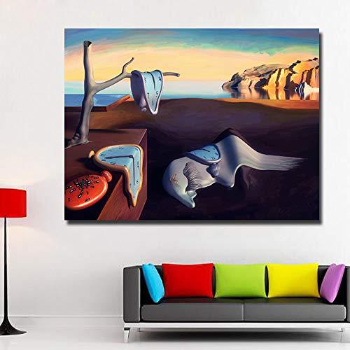 Geiqianjiumai Frameloos schilderij van de abstracte kunstplakaat woonkameruitgangdecoratie van olieverfschilderijenkunst klassieke