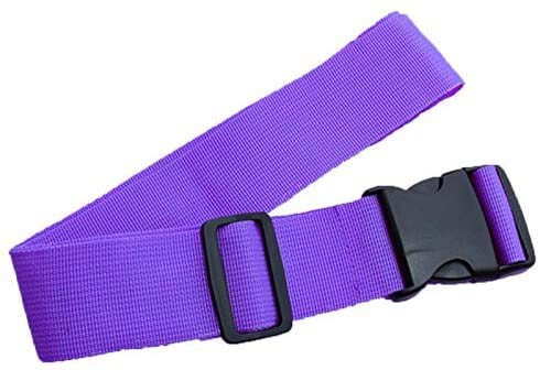 Household Articles LGMIN Cross Rainbow Elastic Telescopic Bag Bungee Luggage Packing Belt Travel Luggage Fixed Strap (Black) Convenient and practical (Color : Purple)