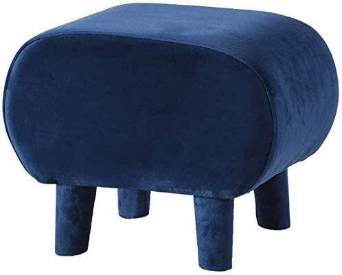 HKAFD Taburete otomano de terciopelo moderno, taburete de reposapiés portátil, taburete tapizado extraíble, para cambio, taburete de almacenamiento (color: 40 x 33 x 33 cm), tamaño: A)