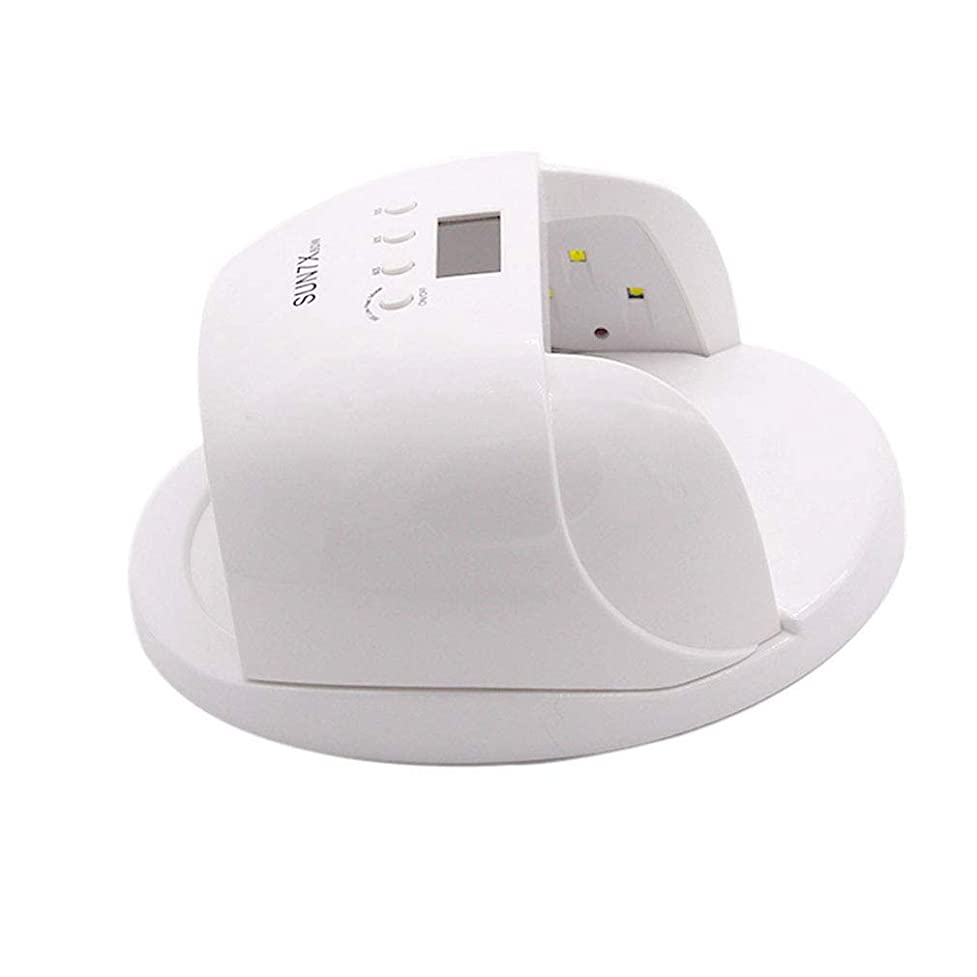 黙シャックル減少スマートなランプ機能、開いた設計、時間設定および低熱のゲルのマニキュアのシェラックのための60W紫外線LEDランプの釘のドライヤー