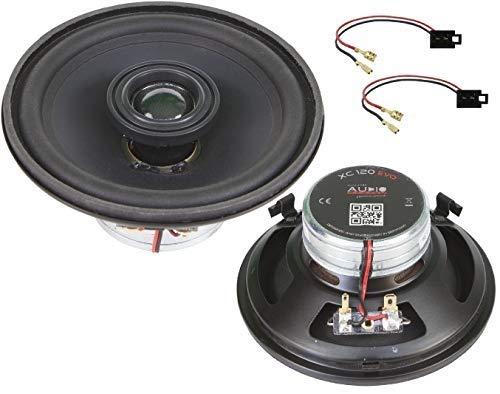 Audio System XCFIT - Altavoces para VW T4 Rear EVO X-Series (neodimio, sistema coaxial especial, 12 cm, 1 par)