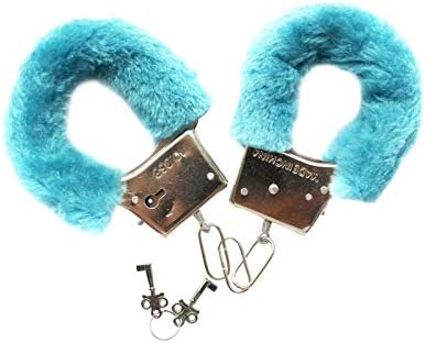Colorful Hairy Fluffy Handcuffs Bracelet Bangle Leg Ankle Cuffs Detachable Manacle Key Adjustable product image
