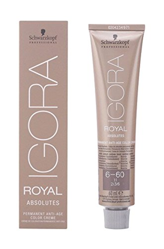 Schwarzkopf IGORA ROYAL Absolutes 6-60 Dark Blonde Chocolate Natural 60 ml