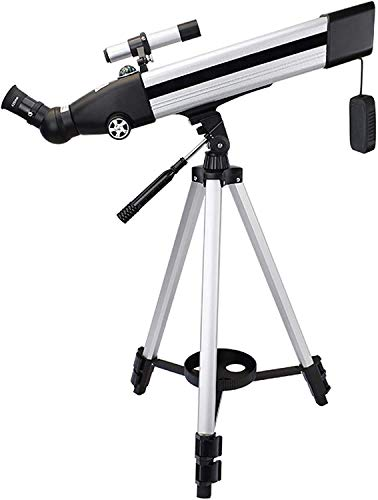 lqgpsx National Geographic Telescope,60mm Aperture 500mm Mount Astronomical Refracting,HD Low Light Night Vision,Portable Travel Telescope with Tripod, and Finders Scope