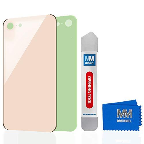 MMOBIEL Tapa de Batería de Reemplazo Compatible con iPhone 8 (Oro) 4.7Pulg...