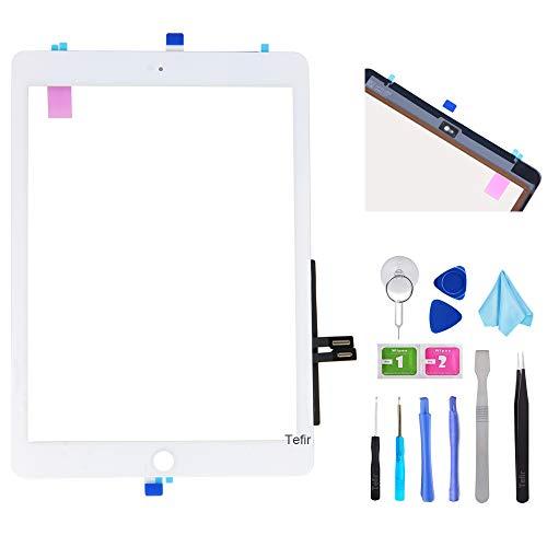 Tefir Blanco Kit de reparación de digitalizador para iPad 9.7