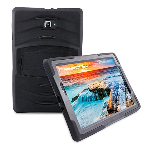 ZicHEXING Hybrid Protective Case Full Cover Stand Holder Dustproof Shockproof Scrape Resistance Suitable for Samsung Tab A