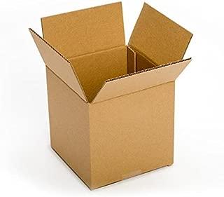 Pratt PRA0410 100% Recycled Corrugated Cardboard Box, 8
