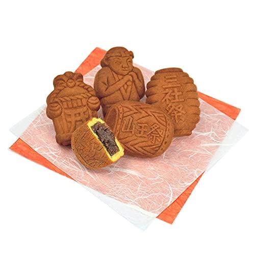 江戸祭人形焼(こしあん)東京土産まんじゅう和菓子お土産に(15個入)