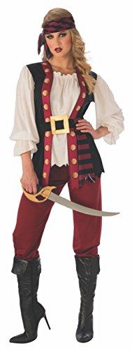 Womens Lusty Pirate Costume