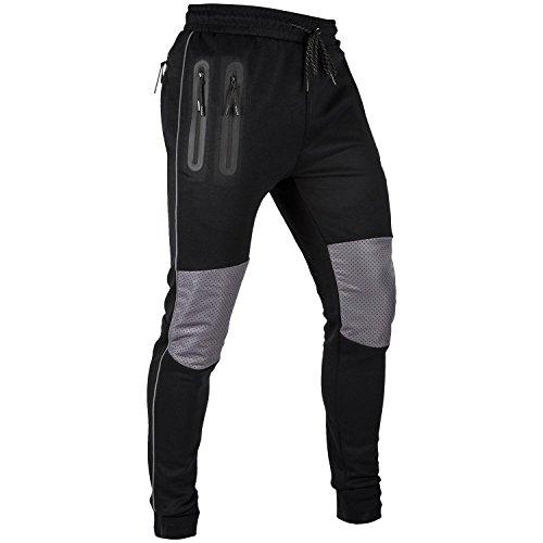 VENUM Laser Pantalones de Chandal, Hombre, Negro, L