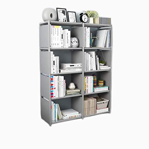 XLTT Estantería multicapa Estantería simple Estantería multicapa fácil de montar Muebles Misceláneas Estantes de almacenamiento Soporte de exhibición para sala de estar Estante para libros para nios D