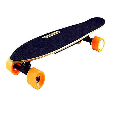 FGKING Electric Longboard, New Electric Skateboard with Remote for Adults 26V 4.4AH Battery Custom Battery Case Ergonomic Remote Motorized Board