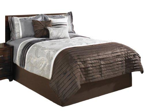 Beco Home Paisley 7-teiliges Luxus-Bettwäsche-Set, komplett