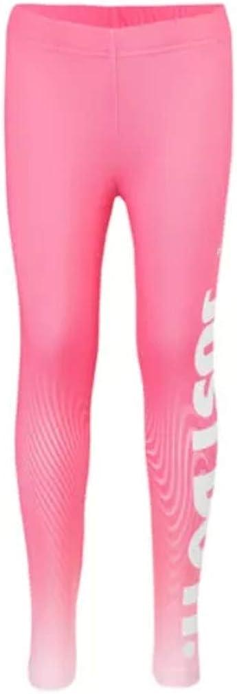 Nike Little Girls Dri-FIT Verbage Leggings Pants Pink