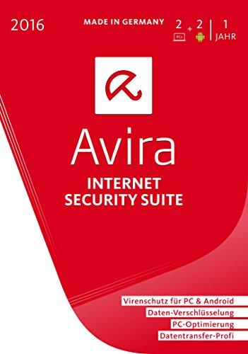 Avira Internet Security Suite 2016 - 2 Geräte / 1 Jahr