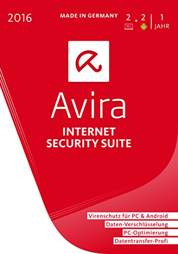 Avira Internet Security Suite 2016 - 2 Geräte / 1 Jahr [import allemand]