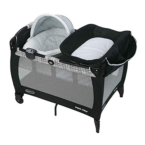 Cheapest Prices! Graco Pack 'n Play Newborn Seat Oasis with Soothe Surround - Teigen