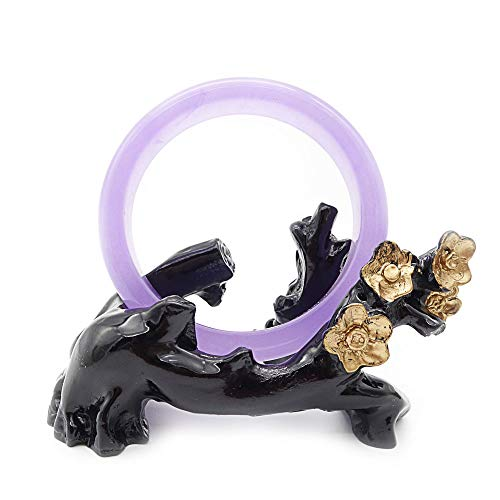 ANMIXIN agate jade bracelet, jade bracelets, the best gifts for friends and family (61mm, purple)