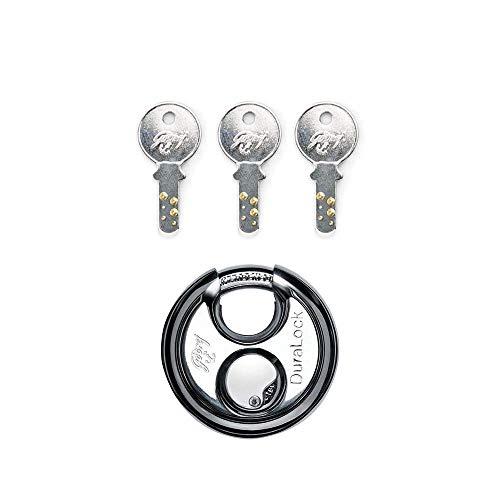 Godrej Locks Duralock - 3 Keys (70mm, Silver)