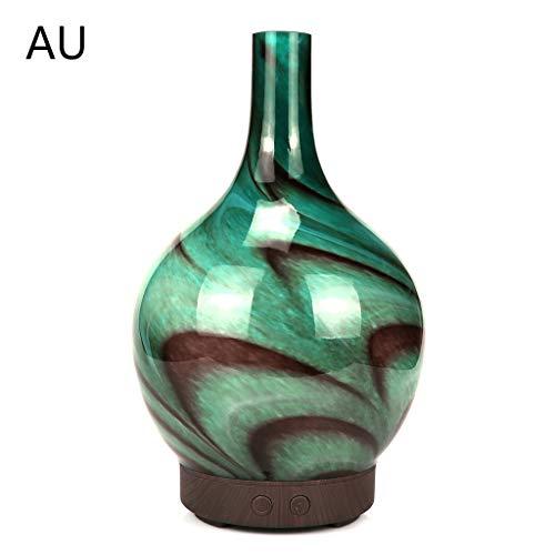 Abcidubxc 100 Ml de Tinta Pintura al Aire humidificador ultrasónico, difusor de Aceite de Aroma, humidificador atomización, luz de Cristal 3D con LED