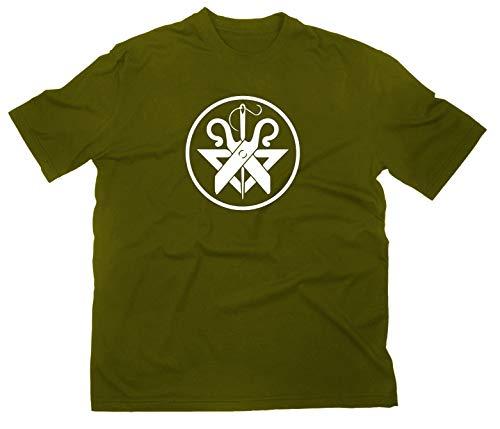 Schneider T-Shirt Zunftwappen Zunft Logo, XXL, Oliv