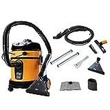 Extratora Profissional 20 Litros 1600W WAP HOME CLEANER 127V, Amarelo com Preto