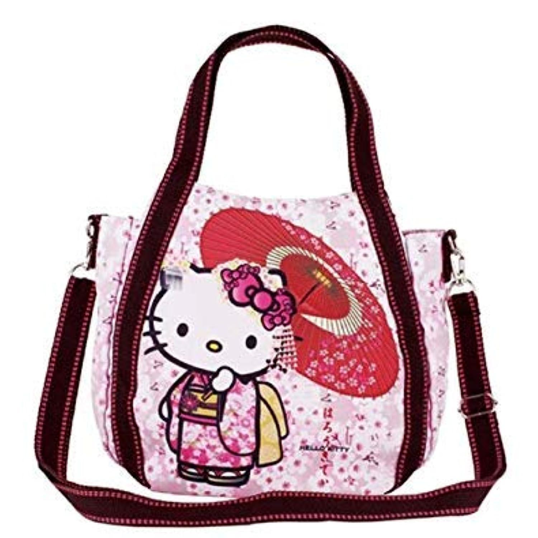 BLY ハローキティ ショルダーバッグ 日本デザイン(桜) 4515 日本製