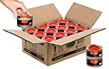 24 pc 2 Hour Liquid Cooking Chafing Dish Fuel Cans, Food Warmer Heat for Buffet Burners, Parties, Weddings, Banquets, Catering Events, Bulk, Easy to Open, Resealable Covers