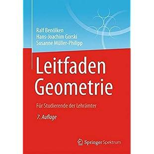 Leitfaden Geometrie Für Studierende Der Lehrämter
